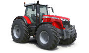 Massey Ferguson 8737S tractor photo