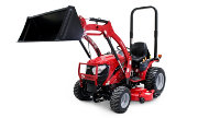Mahindra eMax 25S tractor photo