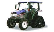 Iseki AT340 Semi-Crawler tractor photo