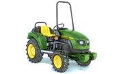 John Deere 25C tractor photo