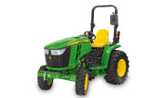 John Deere 3033R tractor photo