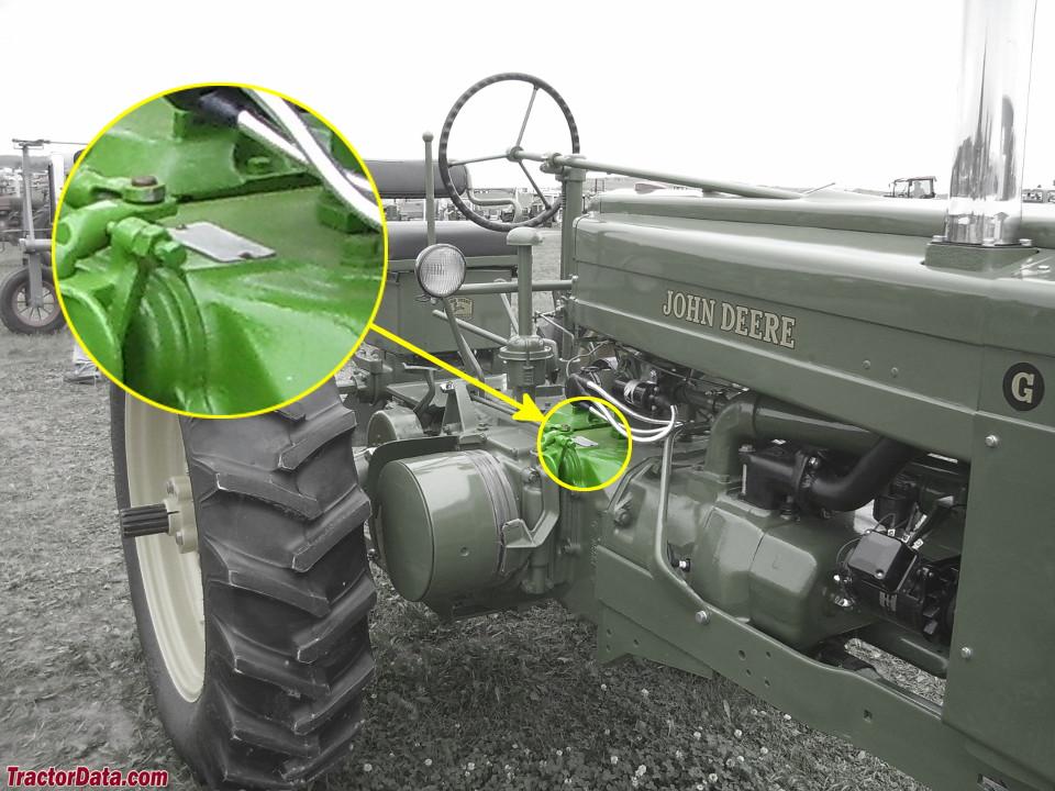 Tractordata Com John Deere G Tractor Information