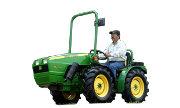 John Deere 40A tractor photo