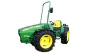 John Deere 50A tractor photo