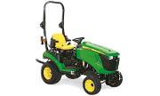 John Deere 1026R tractor photo