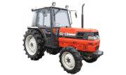 Kubota GL-53 tractor photo