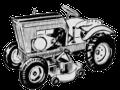 Burns Suburban garden tractor