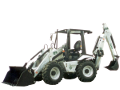 EarthForce EF-6 backhoe-loader tractor