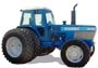 Ford model TW35 tractor