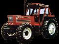 Hesston 180-90 tractor