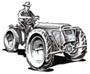 Unitrak model UD 12 tractor