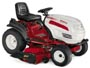 White Outdoor lawn tractor