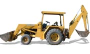 John Deere 310A backhoe photo