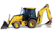 John Deere 410G backhoe photo