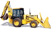 John Deere 710D backhoe photo