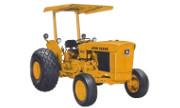 John Deere 301A industrial tractor photo