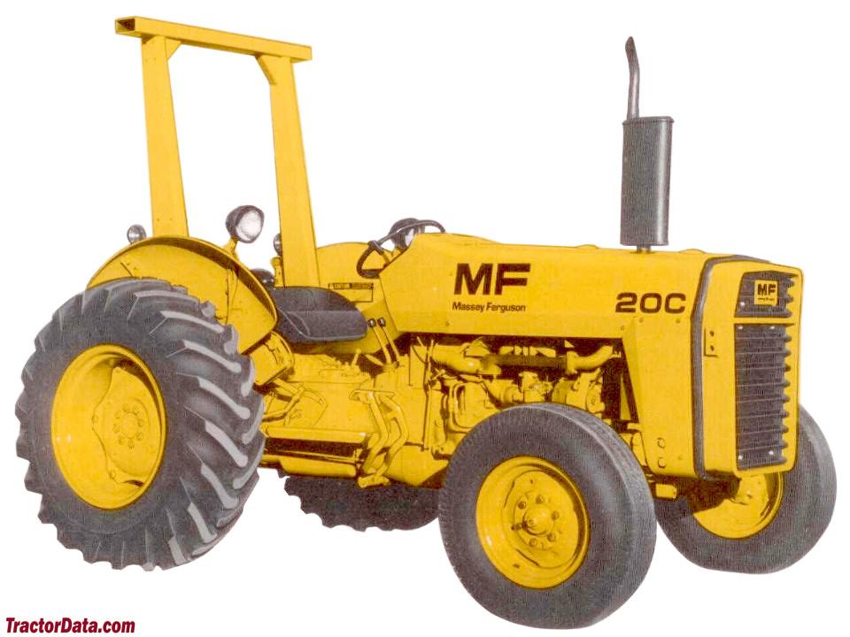 Massey 20C marketing image.