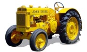John Deere BI industrial tractor photo