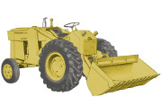 Massey Ferguson Work Bull 1001 industrial tractor photo