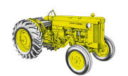 John Deere 420I Special Utility industrial tractor photo