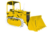 Massey Ferguson 200 Crawler Loader industrial tractor photo