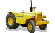 John Deere 840 industrial tractor photo