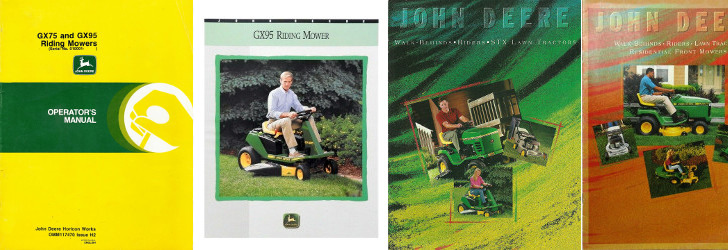 GX95 reference literature