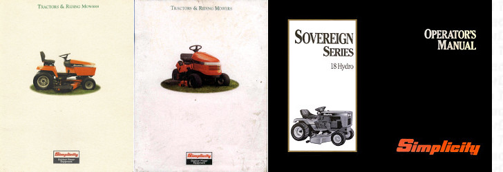 Sovereign 18H reference literature