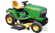 John Deere X465 lawn tractor photo