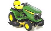 John Deere X500 lawn tractor photo