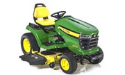 John Deere X534 lawn tractor photo
