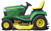 John Deere X720 lawn tractor photo