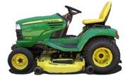 John Deere X728 lawn tractor photo