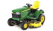John Deere X744 lawn tractor photo