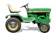 John Deere 140 lawn tractor photo