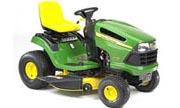 John Deere LA120 lawn tractor photo