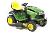 John Deere LA140 lawn tractor photo