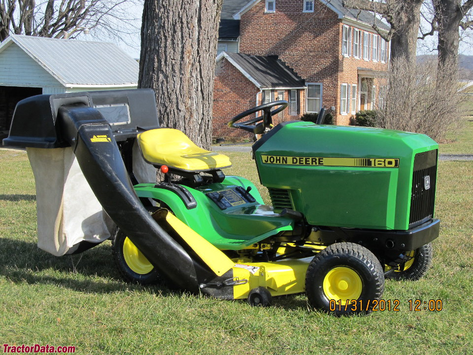 Tractordata Com John Deere 160 Tractor Information