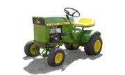 John Deere 70 lawn tractor photo