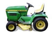 John Deere 200 lawn tractor photo
