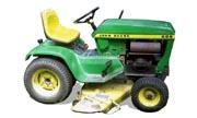 John Deere 208 lawn tractor photo