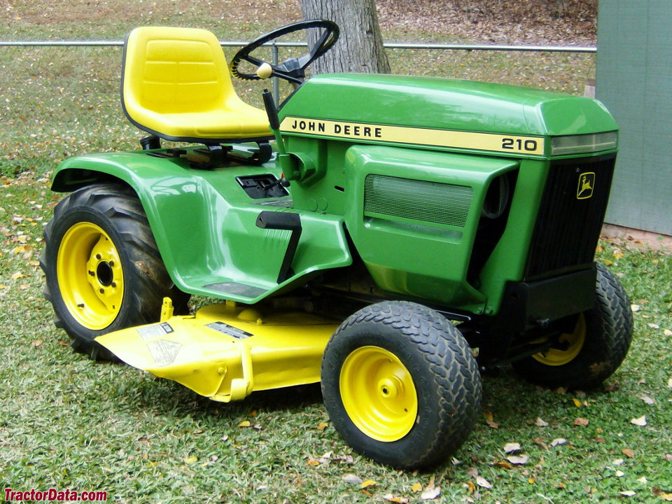 Tractordata Com John Deere 210 Tractor Information