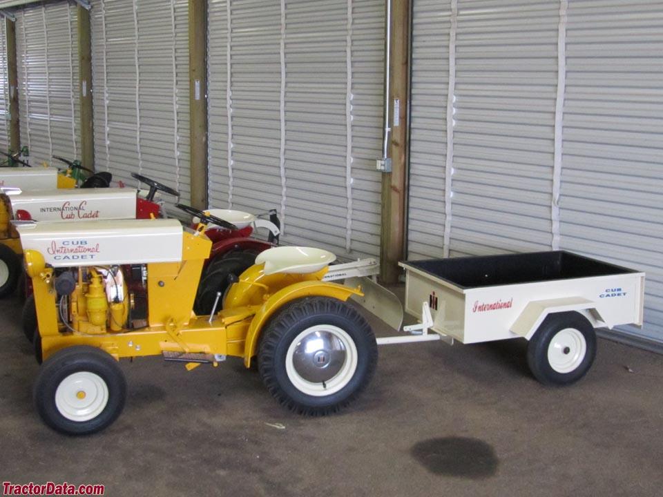 Original Cub Cadet with utility cart