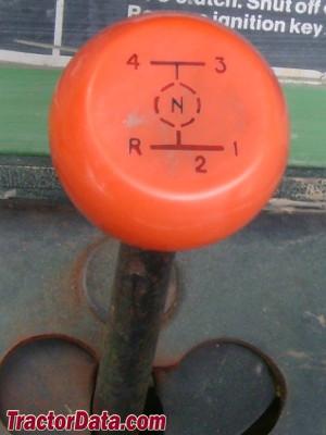 John Deere 212 transmission controls