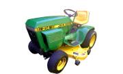 John Deere 214 lawn tractor photo