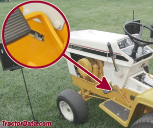 Cub Cadet 128 serial number location