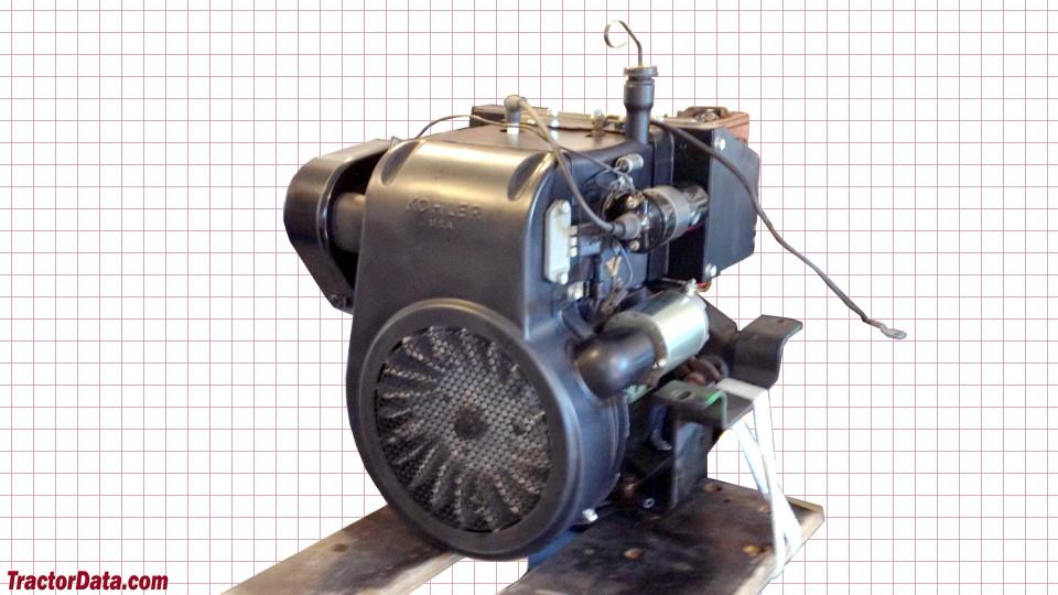 John Deere 216 engine image