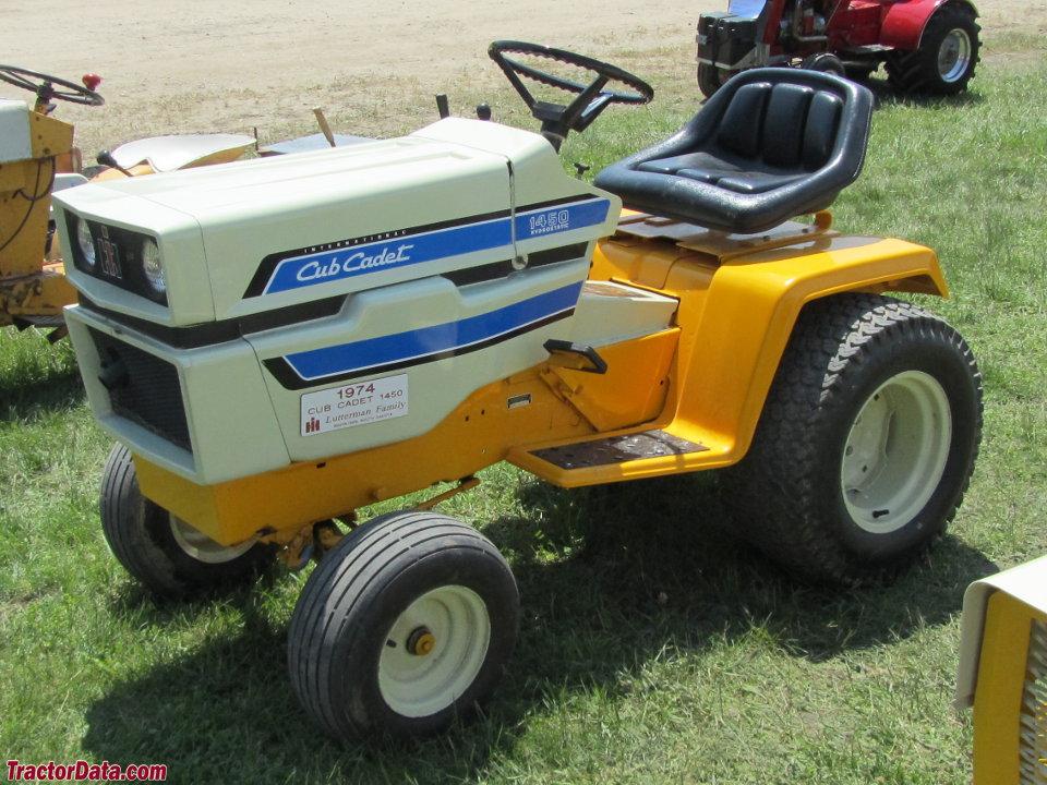 Tractordata Com Cub Cadet 1450 Tractor Photos Information