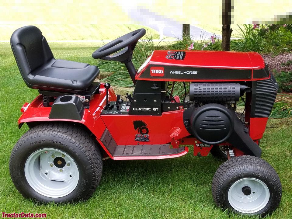 60th Anniversary edition Toro Wheel Horse GT/315-8.