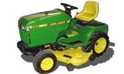 John Deere 260 lawn tractor photo